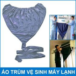 Túi Bạt áo vệ sinh bảo dưỡng điều hòa máy lạnh có đuôi