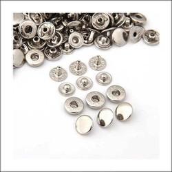 Nút bấm 4 thành phần (nút bóp) Nút quần jean 4 thành phần Loại 12mm Bằng thau Màu bạc, vàng, đồng, đen Phụ liệu may mặc