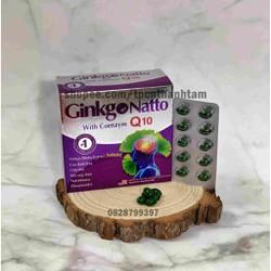 Viên uống bổ não GINKO NATTO 360mg giúp tăng cường trí nhớ hỗ trợ tuần hoàn máu não - Hộp 100 viên