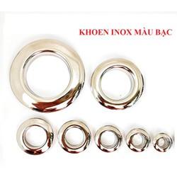 Khoen ore 16mm Khoen mắt cáo 16 ly Bằng INOX không gỉ Khuy mắt cáo bấm vải Phụ liệu may mặc cao cấp