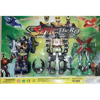 Sét 3 cái mô hình siêu nhân gao Cuồng Phong bằng nhựa rất đẹp - vĩ 3 siêu nhân Cuồng Phong thumbnail