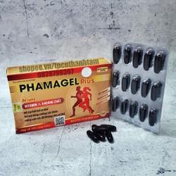 Vitamin tổng hợp PHAMAGEL PLUS bồi bổ cơ thể tăng cường sức đề kháng - Hộp 30 viên