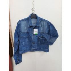 áo khoác jean quảng châu chất đẹp