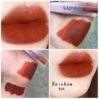 son kem lì Rainbow matte liquid - 1234 5