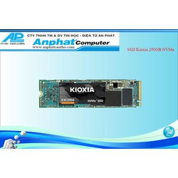 SSD Kioxia 250GB NVMe M.2 2280 Bảo Hành 36 Tháng