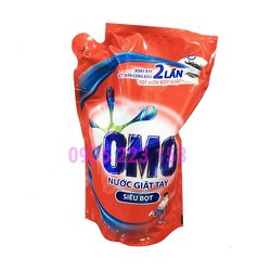 Túi nước giặt tay OMO siêu bọt 1.8kg