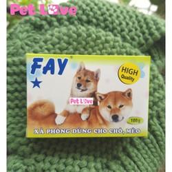 Xà bông Fay 1 sao tắm chó mèo
