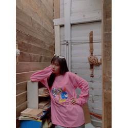 Áo thun tay ngắn Nam Nữ in hình Mickey,(OneSize dưới 70Kg), Áo thun Unisex Nam nữ Form chuẩn, chất liệu cotton