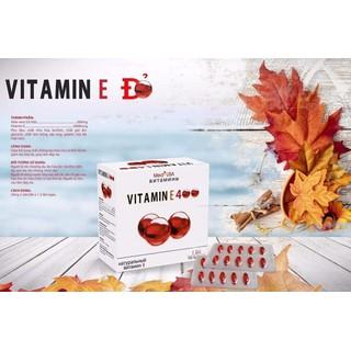 [Hộp 100 viên] Viên Uống Đẹp Da Vitamin E 4000mcg, sáng mịn da, chống lão hóa - - Vitamin E đỏ - Vitamin E đỏ - Nguyên liệu nhập khẩu nga thumbnail