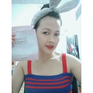 Sét 20 Mặt nạ Váy Cưới It s Skin Wedding Dress Pink Mask - tn7373 thumbnail