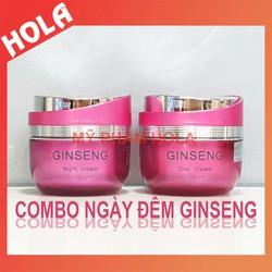 [CHÍNH HÃNG] COMBO ngày và đêm Ginseng, giúp làm mờ nám và dưỡng trắng da nhân sâm Hàn Quốc, mỹ phẩm Ginseng.
