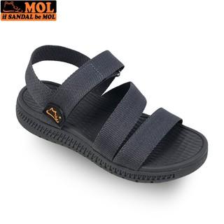 Giày sandal học sinh nam nữ quai ngang đế siêu nhẹ hiệu MOL MS2G - MOL VN - BẢO HÀNH 12 THÁNG - JH1080RA thumbnail