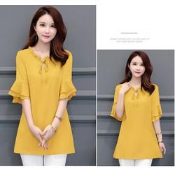 áo kiểu form dài thời trang -(thoi trang trung nien bigsize05)-n41221
