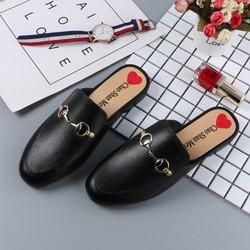 Sục nữ - Giày sandal nữ đế bệt thời trang