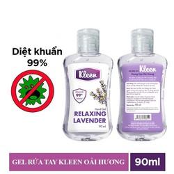 Gel Rửa Tay Khô Kleen Không Dùng Nước 90Ml