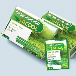 Bột sủi hỗ trợ thanh nhiệt mát gan, giải độc gan, bảo vệ gan Sacool - Giúp tăng cường chức năng gan, hỗ trợ làm giảm các triệu chứng mẩn ngứa, mề đay, nước tiểu vàng sậm. - Sacool thumbnail