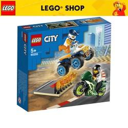 HÀNG NHẬP KHẨU LEGO CITY Biểu Diễn Nhào Lộn 60255 (62 chi tiết)