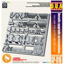 Phụ kiện mod ANUBIS - Chi tiết nhựa mô hình in 3D cho MG 1/100 MBF-P02 ASTRAY REDFRAME GP016