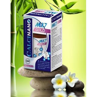 Viên uống Calci Nano Mk7 Plus - Giúp bổ sung Canxi, Vitamin K2, D3 và khoáng chất cần thiết cho cơ thể hỗ trợ phát triển chiều cao ở trẻ, ngừa loãng xương ở người già- Eu Group màu xanh trắng - Calci Nano Mk7 Plus -Eu Group màu xanh trắng thumbnail