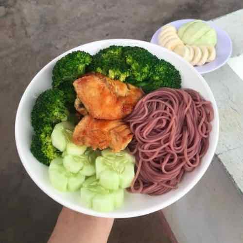 [CHỈ GIAO MIỀN BẮC] 1kg bún gạo lứt khô thực phẩm tốt cho sức khoẻ