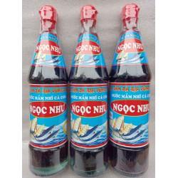 [ SALE 2 CHAI ] Nước mắm NHỈ cá cơm truyền thống - CỐT Y THƯỢNG HẠNG - Chai 650ml
