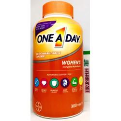 Vitamin tổng hợp cho Nữ One a day women 's chai 300 viên từ Mỹ cho nữ dưới 50 tuổi