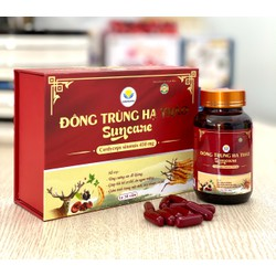 Viên uống đông trùng hạ thảo Suncare- giúp Ăn ngon, ngủ tốt, bồi bổ cơ thể, giảm mệt mỏi, chống lão hóa,chống ung thư, kiểm soát bệnh tiểu đường