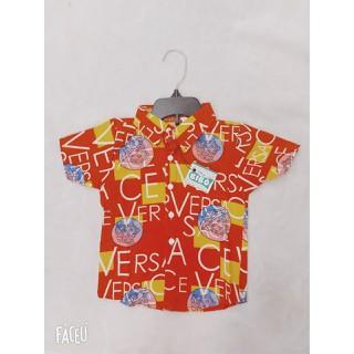 sơ mi đỏ vải lụa mềm mại cho bé - SMDVC thumbnail