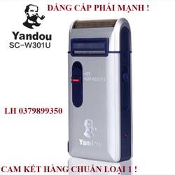 Máy Cạo Râu Sạc Điện Yandou Sc-W301U Nhỏ Gọn Kèm Bao Da May Cao Rau