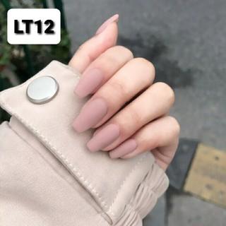 Móng tay giả màu lì đầu bằng ảnh thật 100% - Móng lì LT12 - LT22 thumbnail