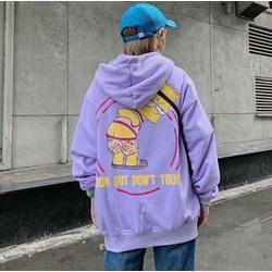 Áo hoodie nam nữ cực đẹp, áo khoác hoodie unisex nỉ ngoại,(Freesize dưới 65Kg), in hình Donut