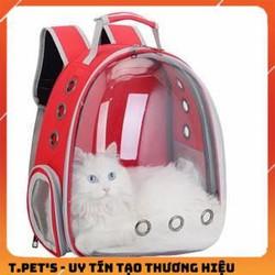 Balo Phi Hành Gia Cho Thú Cưng - Balo vận chuyển chó mèo trong suốt hàng đẹp