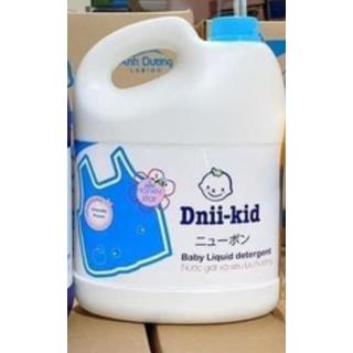 [Lấy mã freeship shop+] [MÀU TRẮNG] Nước giặt xả trẻ em siêu lưu hương Dnii-Kid Labido Ánh Dương 3600ml [HSD đến 2023] - 1CTR thumbnail