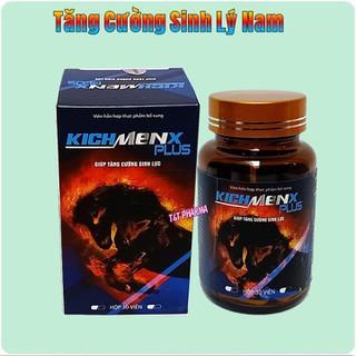 Viên Uống Tăng cường sinh lý cực mạnh KichMenx Plus - Giúp tăng cường sinh lý mạnh hơn, bền vững hơn- hôp 30viên - viên uống KichMenx Plus - Viên Uống Tăng cường sinh lý cực mạnh KichMen thumbnail