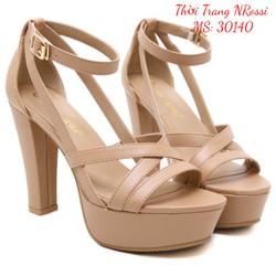 GIÀY BIG SIZE giày sandal đúp mũi 10cm BIG SIZE