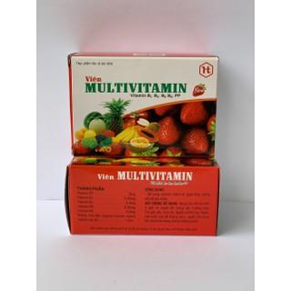 [Combo 2 hộp] Multivitamin - Giúp bổ sung các loại Vitamin và khoáng chất - Viên Vitamin tổng hợp thumbnail
