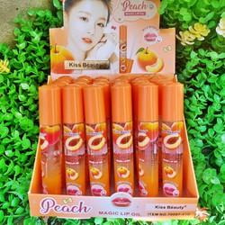 Son dưỡng bóng hồng môi Kiss beauty Đào 70097 – HUKB418