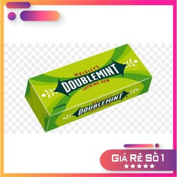 4 phong KẸO CAO SU (CHEWING GUM) DOUBLEMINT