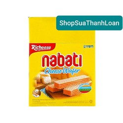 [HSD T2-2022] Bánh xốp nhân phô mai Nabati hộp (320g)