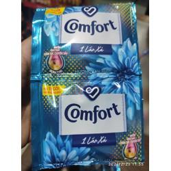 Dây 10 gói nước xả vải Comfor nhiều hương