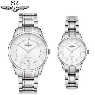 Đồng Hồ Đôi SRWATCH Couple-F SL80051.1102CF Mặt Kính Sapphire Dây Thép Không Gỉ Chính Hãng - Couple-F SL80051.1102CF thumbnail