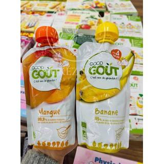 Váng sữa hoa quả nghiền hữu cơ Pháp GOUT dành cho bé từ 4 tháng tuổi - Bill mua tại Pháp [ĐƯỢC KIỂM HÀNG] 41048911 - 41048911 thumbnail