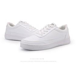 GIÀY BIG SIZE Giày Sneaker NamFREESHIP Giày Thể Thao Bigsize Bata Full Trắng Size Lớn Cho Nam