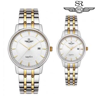 Đồng hồ đôi SRWATCH Couple SR1079.1202TE Mặt Kính Sapphire Chống Trầy Dây Thép Chống Gỉ Chính Hãng - SRWATCH Couple SR1079.1202TE thumbnail
