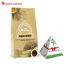 Cà phê bột Đặc biệt Light Coffee, cà phê nguyên chất vị đậm, đăng mạnh - 500g