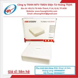 Đầu ghi hình camera 4 kênh Hikvision DS-7104HGHI-F1 - Hàng chính hãng