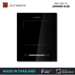Bếp đơn điện từ Junger IS-20 - Công suất 2200W - mặt kính Ceramic - Bảo hành 12 tháng chính hãng - MADE IN THAILAND