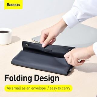 Túi xếp vải dù, chống thấm Baseus Folding Series Laptop Sleeve dùng đựng Macbook Tablet Samrtphone và Phụ kiện - LBZD-B0G 2