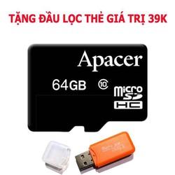 thẻ nhớ 64gb - thẻ nhớ chuẩn dung lượng - sử dụng cho các thiết bị cần lưu trữ lớn - class 10