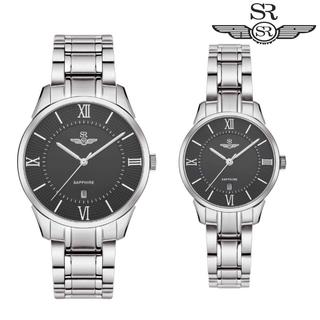 Đồng Hồ Đôi SRWATCH Couple-F SR80051.1101CF Mặt Kính Sapphire Dây Thép Không Gỉ, Chính Hãng - SRWATCH Couple-F SR80051.1101CF thumbnail